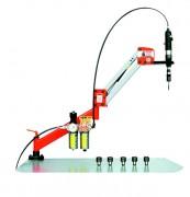 Bras de taraudage pneumatique - Déplacement : Rmax 1000 mm Rmin 100 mm