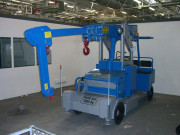 Bras supplémentaire pour grues à contrôle manuel ou hydraulique - Prêt à être installé - Portée allant jusqu'à 10.000 kg