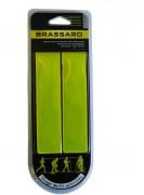 Brassard de sécurité pour cyclistes - Conforme à la norme EN 13356   -   Jaune fluo réfléchissant