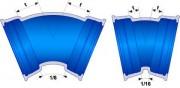 Bride-uni moulé TT Verrouillés DN 350 - Raccords STANDARD TT - (inserts et contrebride) DN 350 à 500
