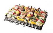 Brochette pour barbecue - Dimensions (L x l) : 25 x 33 cm