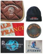 Broderie de logo - Broderie textes et logos