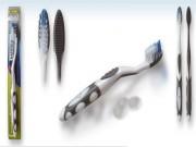 Brosse à dents adultes soin blancheur - Efficace pour enlever la plaque