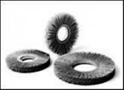 Brosse Circulaire abrasives nylon dim 254 mm - Carbure de silicium - Oxyde d'aluminium Série NY