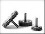 Brosse Circulaire sur axe abrasives nylon pour dépolissage - Série BMF-AY