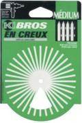 Brosse coupe Nylon - Diamètre (mm) : de 22 à 100
