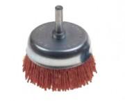 Brosse coupelle nylon - Diamètres disponibles (mm) : 50