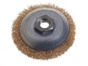 Brosse métallique circulaire - Diamètres disponibles (mm) : 90 - 120