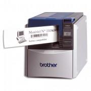 BROTHER Ruban papier adhésif continu noir/blanc largeur 62mm 30m DK22205 - Brother