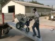 Brouette Dumper électrique - Moteur 1000W - charge utile 500 kg