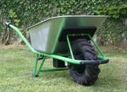 Brouette électrique 100 litres - Charge maximum 120 kg - Puissance moteur 250 W