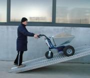 Brouette électrique 200 kg - Charge utile : 200 kg