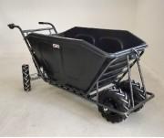 Brouette électrique 3 roues - Capacité : 500 litres -  Moteur débrayable 250 W