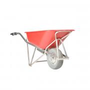 Brouette électrique Aluminium - Capacité : 90 litres