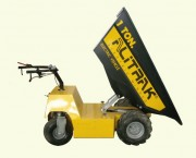 Brouette électrique de chantier 1 tonne - Capacité de charge : 1 tonne