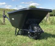 Brouette électrique PRO renforcé - Capacité  200 litres - Charge : 150 Kg