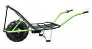 Brouette électrique type charrette - Châssis tube acier diamètre 32 mm épaisseur 1,5 mm - Charge : 120 Kg
