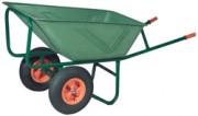 Brouette professionnelle en polyéthylène - 170 litres ( 2 roues)