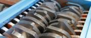 Broyeur à cisaille rotative 2 axes - Pré broyeur pour déchets industriels / collectivités - Débit horaire : 50 à 5000 kg / H