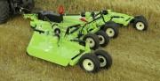 Broyeur agricole à à cinq rotors - Largeur de coupe (m) : 6.1