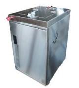 Broyeur biodéchets professionnel 2 bacs - Capacité : 60 kg en 9 h ou 120 kg en 18 h