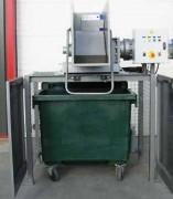 Broyeur compacteur de déchets - Dimension (Lxpxh) (bloc de coupe) : 1200x650x1000 mm