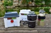 Broyeur d'évier compact - Capacité cuve : 4 à 5 litres de broyat
