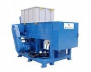 Broyeur de déchets plastique - Section de coupe: 1410 x 800 mm