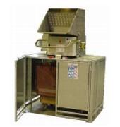 Broyeur emballage alimentaire en bois  - Broyeurs pour conteneurs 660 litres