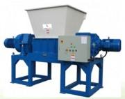 Broyeur industriel à cisailles - Puissance moteur Principal : 22 + 22 KW