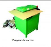 Broyeurs de carton - Largeur de découpe : 420 mm  - Épaisseur de carton : 0 à 20 mm