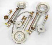 Brûleur circulaire pour distillerie 10 à 200 kW - Brûleur gaz naturel ou propane : 300 mbars à 1,75 bar