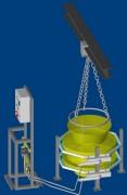 Brûleur Industriel Rampe Labo 10 à 30 Kw - Puissance : 10 à 30 KW par mètre linéaire - Décrassage de bandes - Diamètre : 21 à 60 mm