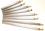 Brûleur rampe linaire compact - Longueur : 400 à 700 mm - Fours à chaleur statique, grillades, grils charcaol et plaque à snacker -