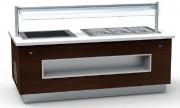 Buffet de présentation modulaire - Dimensions : 2025 x 1100 x 900 mm