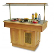 Buffet de restaurant réfrigéré par compresseur - Dimensions : 1400 x 700 x 1520mm