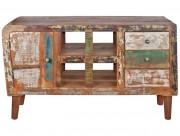 Buffet de style industriel - Dimensions : 120 x 40 x 70 cm