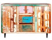 Buffet de style vintage - Dimensions : 140 x 40 x 100 cm