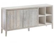 Buffet en bois de pin - Dimensions : 176 x 40 x 82 cm