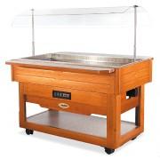 Buffet réfrigéré mobile - Froid statique : +3°C/+10°C