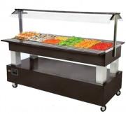 Buffet réfrigéré mobile 500 W