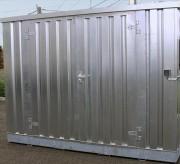 Bungalow conteneur pour stockage fûts 727 L - Dimensions : 3m x 2m