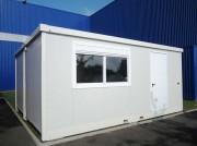 Bungalow de chantier juxtaposable - Vos bureaux et vestiaires au moindre coût