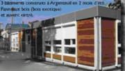 Bungalow de chantier modulable - Bâtiment temporaire