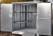 Bungalow de stockage 2 portes 2m - Choix dimensions et capacités de rétention