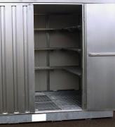 Bungalow DMS avec isolation - Bac de rétention intégré : 374 litres