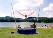 Bungy trampoline - Hauteur de 7m  - Montage en moins d'une heure