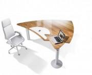 Bureau assis debout en bois - Hauteur entre 720 e t 1160 mm
