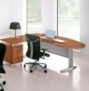 Bureau ergonomique avec retour sur les côtés - Garantie : 5 ans