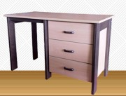 Bureau commode - Dimensions (L xPx h) : 750 x 600 x 1200 mm